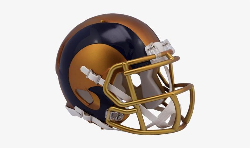 c3be225fa Los Angeles Rams Riddell Speed Mini Helmet - St. Louis Rams Limited Edition  Blaze Speed