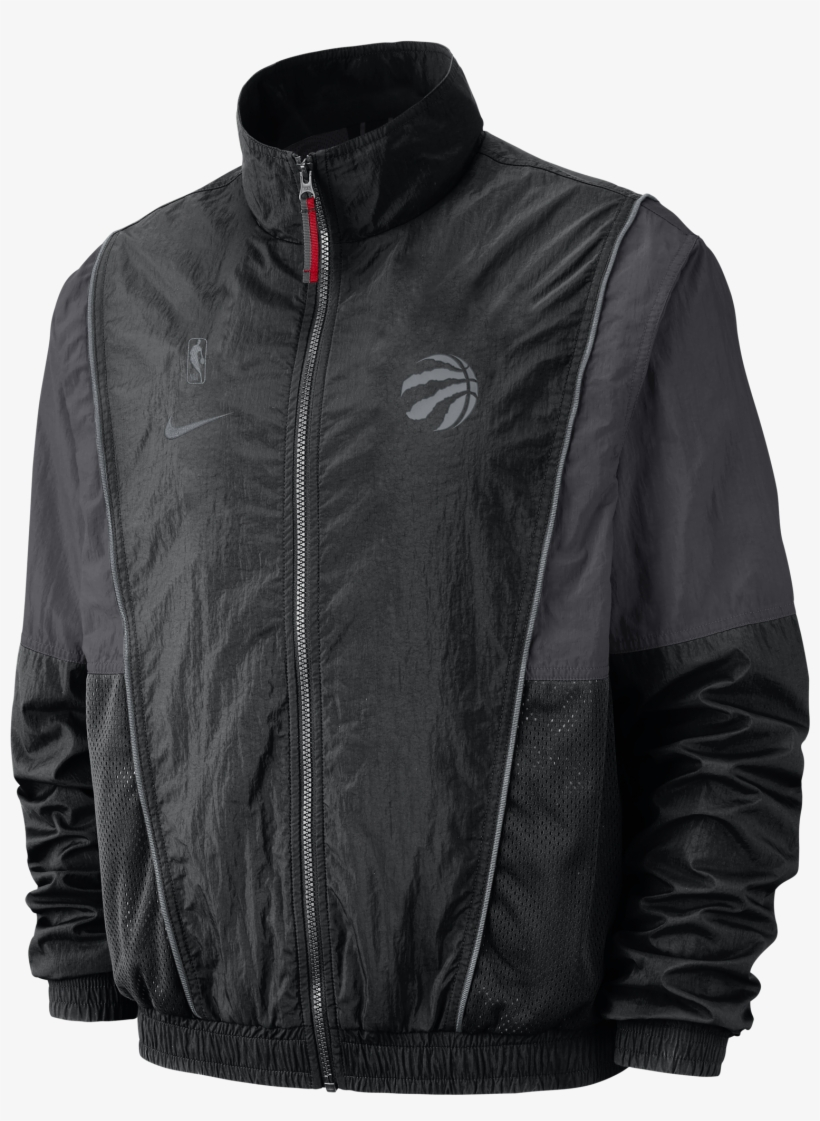 Toronto Raptors Nike Men's Partial Logo Courtside Track - Golden State Warriors Jacket Nike, transparent png #1420185