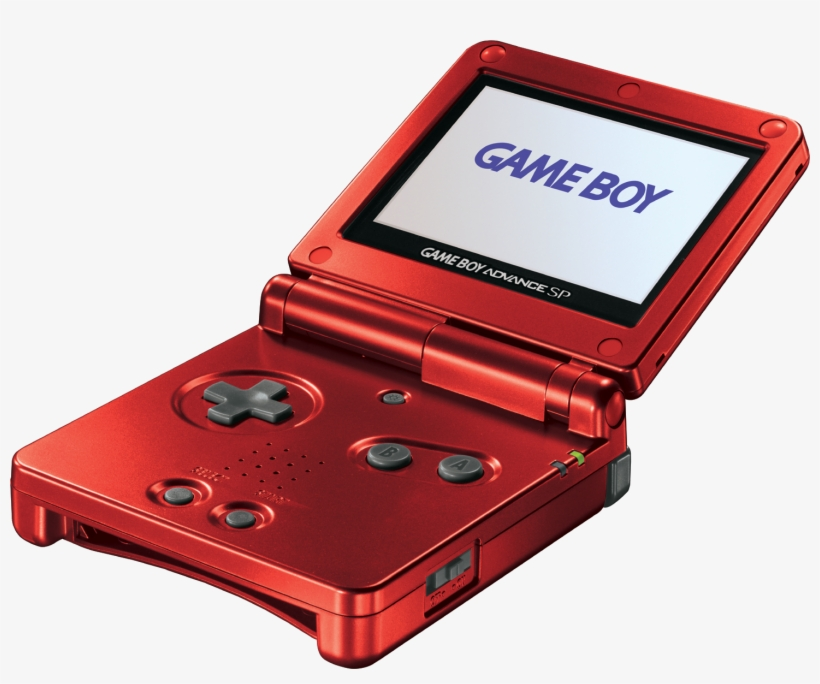 Game Boy Advance Sp - Game Boy Advance Sp Png, transparent png #1424635