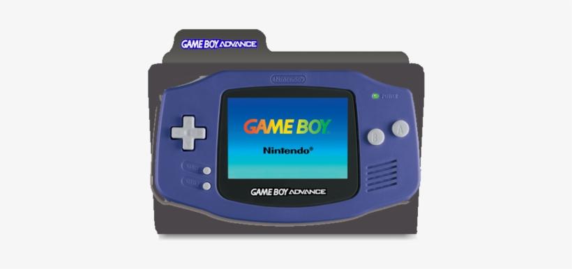 Game Boy Advance Icon Folder - ??????????? ?????????????? [game Boy Advance], transparent png #1425080