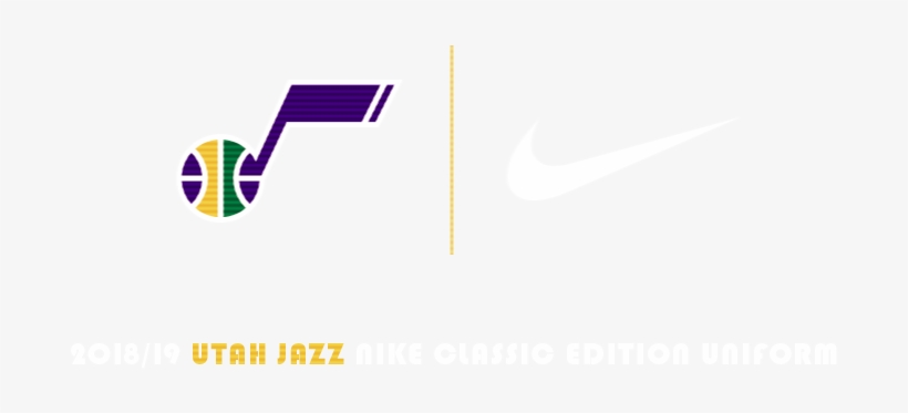 2018-19 Utah Jazz Nike Classic Edition Uniform - 2018–19 Utah Jazz Season, transparent png #1425672