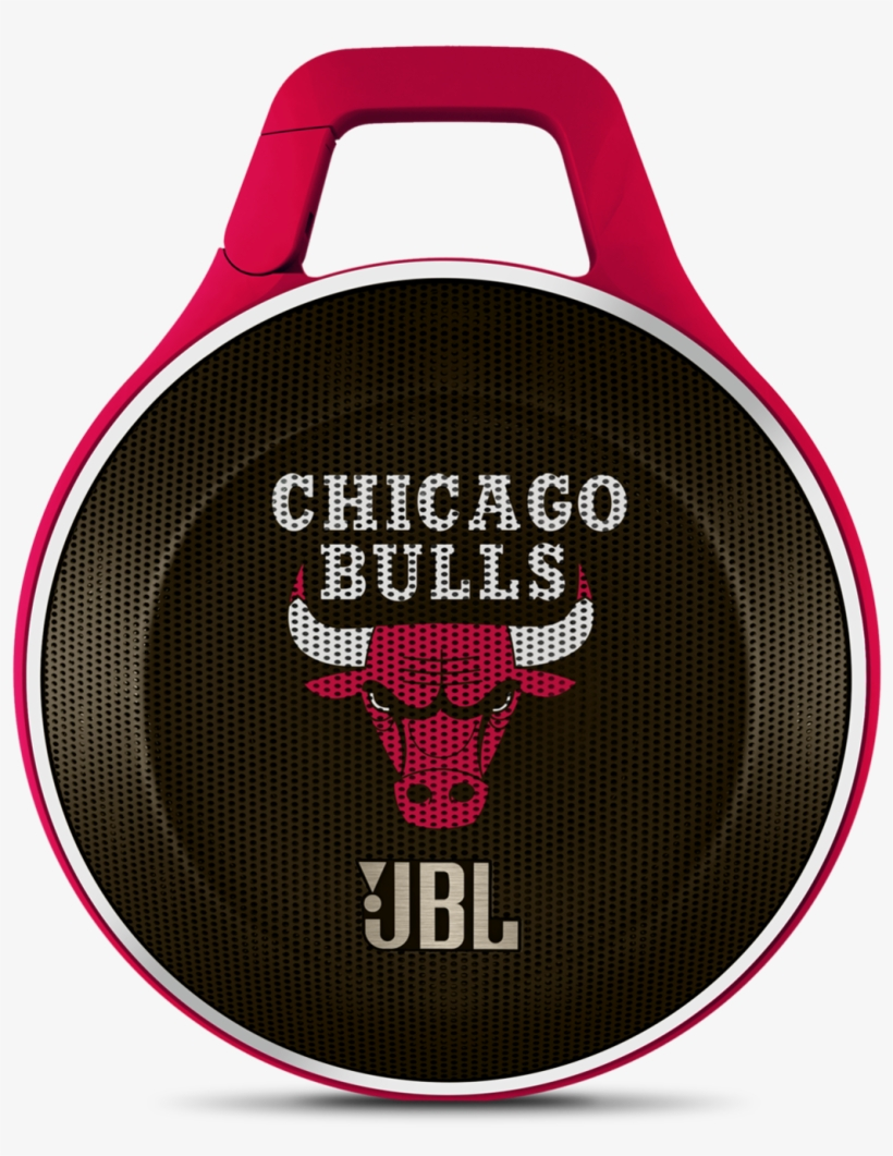 Jbl Clip Nba Edition - Jbl Clip Portable Speaker - Bluetooth - Chicago Bulls, transparent png #1428534