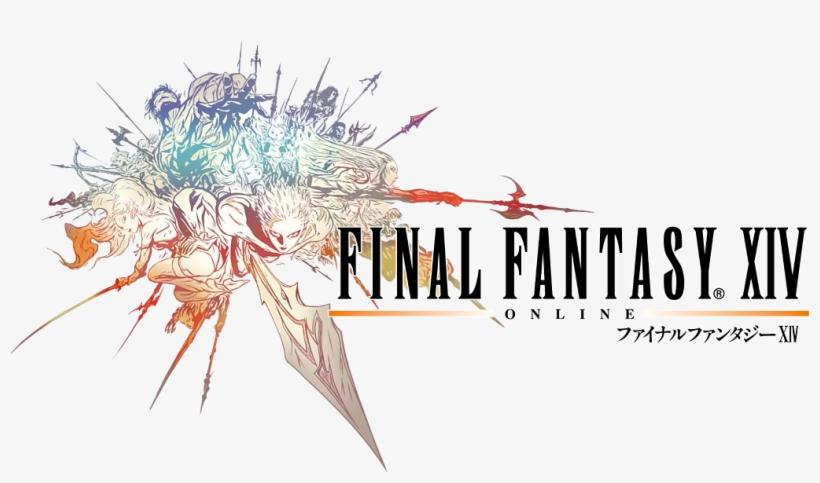 Countdown To Final Fantasy Xv - Final Fantasy Xiv Logo, transparent png #1428815