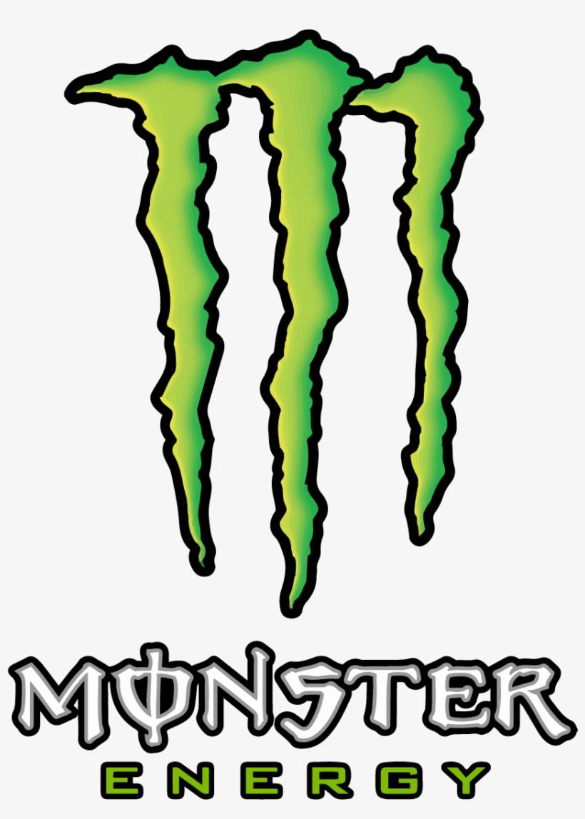 Monster Energy Logo Vector Transparent Vertical - Monster Energy Logo Vettoriale, transparent png #1429509