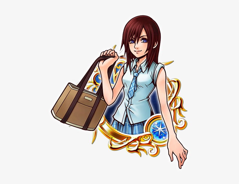 Illustrated Kh Ii Kingdom Hearts Unchained Wiki - Kingdom Hearts Illustrated Kairi, transparent png #1429609