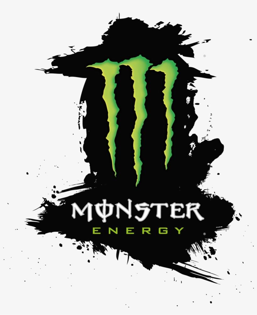 Monster Png Logo Symbols - Monster Energy Logo Png, transparent png #1429611