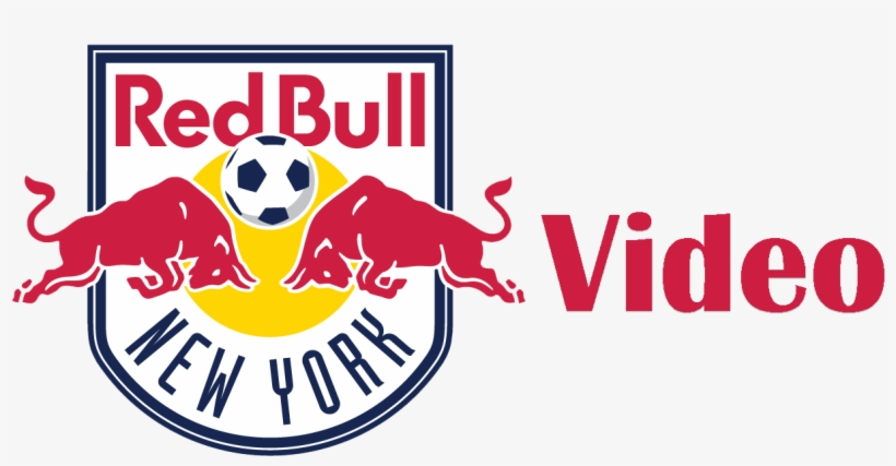 Let's Go To The Videotape - New York Red Bulls Logo Vector, transparent png #1430119