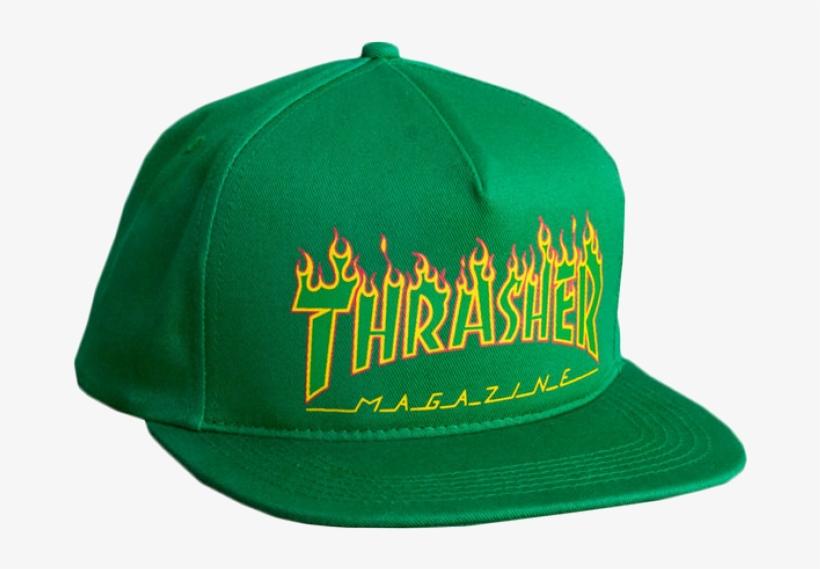 2690bfe3c2f9 Hats   Thrasher   Flame Logo - Thrasher  flame Outline Logo  5-panel ...
