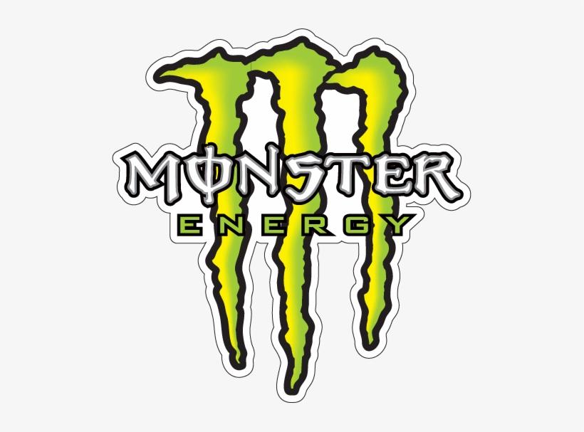 Clipart Resolution 505*527 - Logo Monster Energy, transparent png #1431673