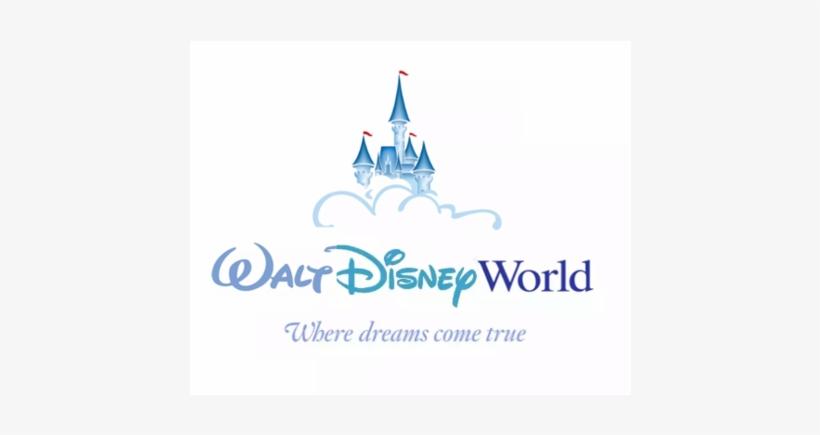 Walt Disney Castle Logo Png Download - Walt Disney World Logo Png, transparent png #1433383