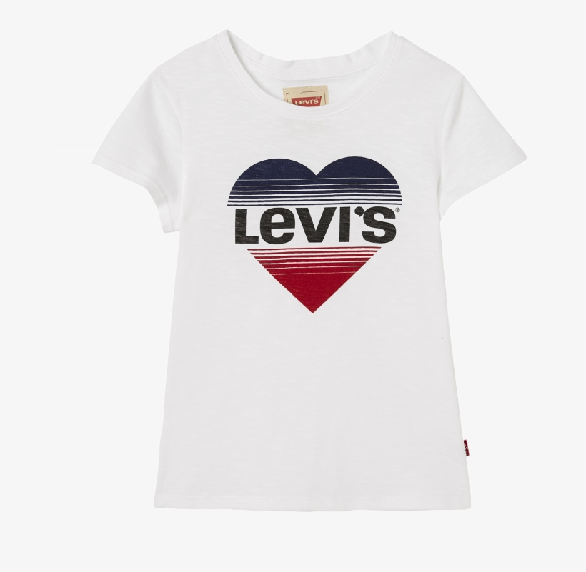 Levi's Kids Ss Tee Bisou Levi's Heart - Levi's T Shirt Kids, transparent png #1435579