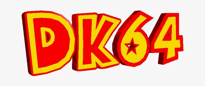 Download Zip Archive - Donkey Kong 64 Logo, transparent png #1437707