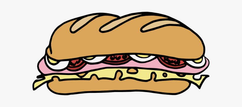 Turkey Clipart Lunch Meat Sub Sandwich Clip Art Free Transparent