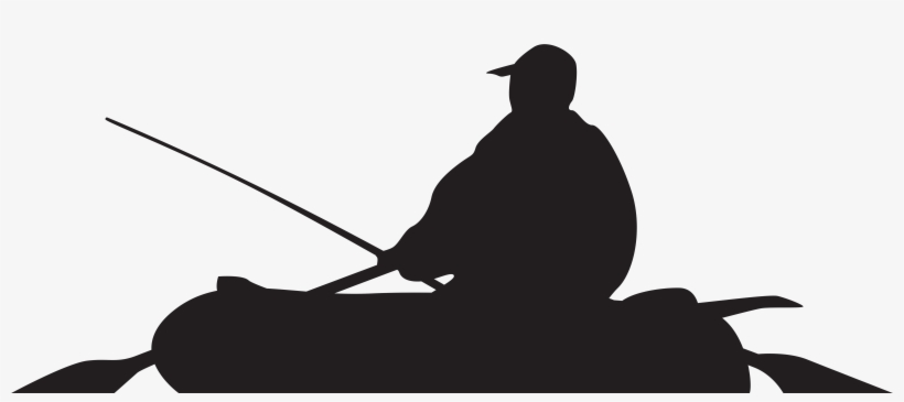 Fishing Boat Clipart Silhouette Free Collection - Boat Silhouette Png, transparent png #1441912