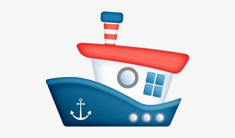 Tug Boats, Nautical Clipart, Baby Clip Art, Nautical - Tug Boat Clip Art, transparent png #1442006