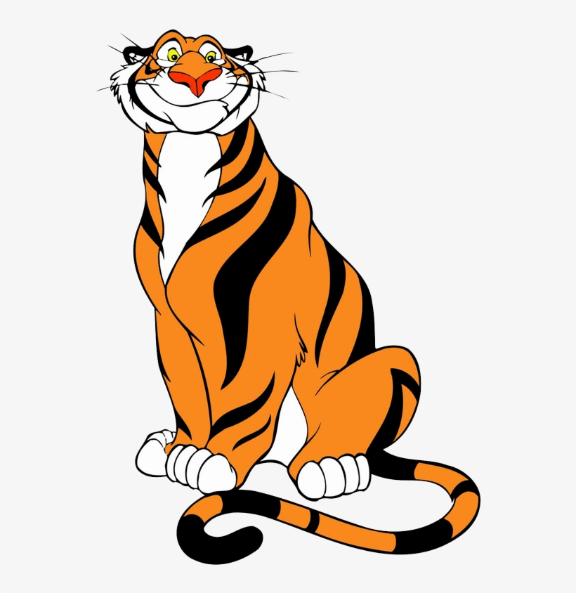 Tiger Clipart Smiling