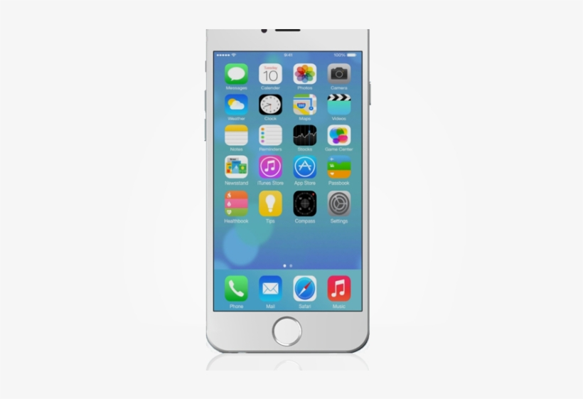 19 Smartphone Clipart Iphone Apple Huge Freebie Download - Apple Iphone Image Transparent, transparent png #1443590