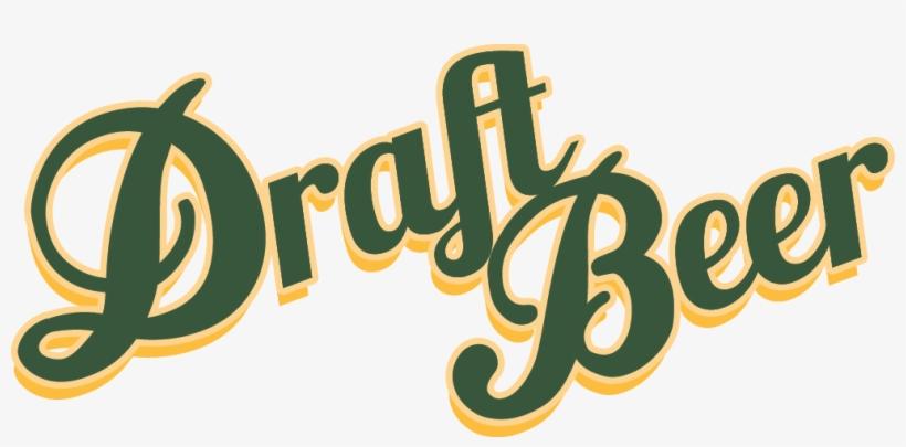 Beer Clipart Draught Beer - Draft Beer Logo Png, transparent png #1444925