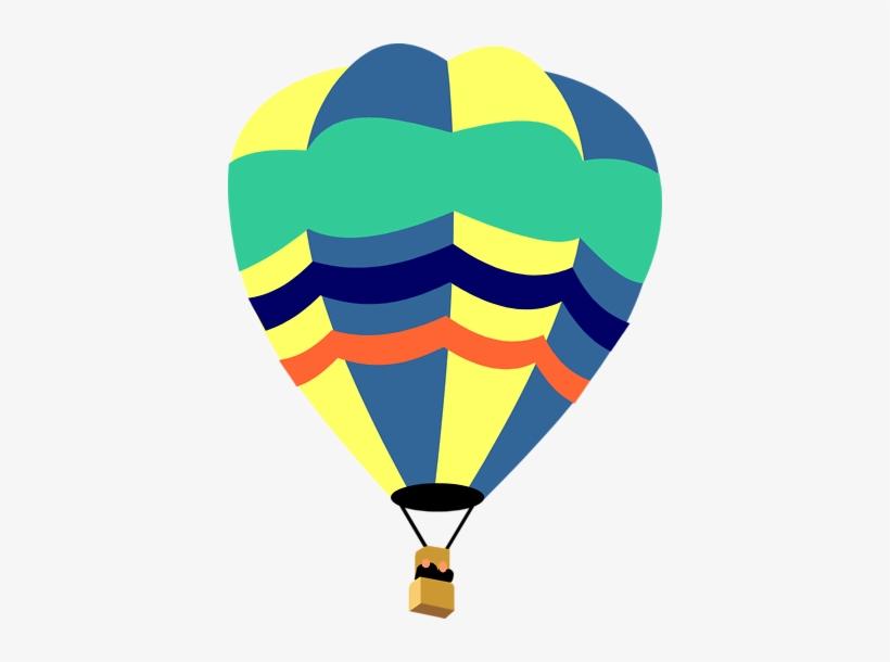 Hot Air Balloon Clip Art - Hot Air Balloon, transparent png #1445992