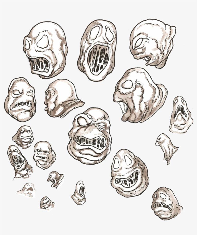 Scary Drawings Easy Create Monsters Free Transparent Png Download Pngkey