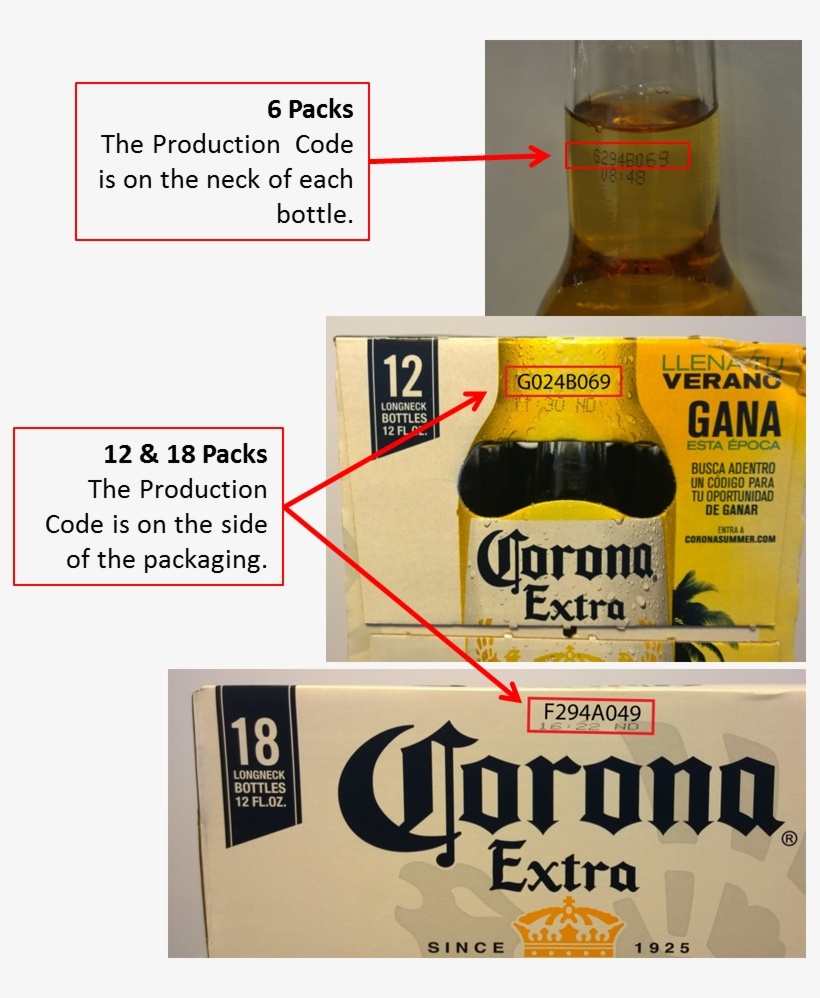 Chicago Constellation Brands Beer - Corona Extra Beer - 24 Pack, 12 Fl Oz Bottles, transparent png #1451989