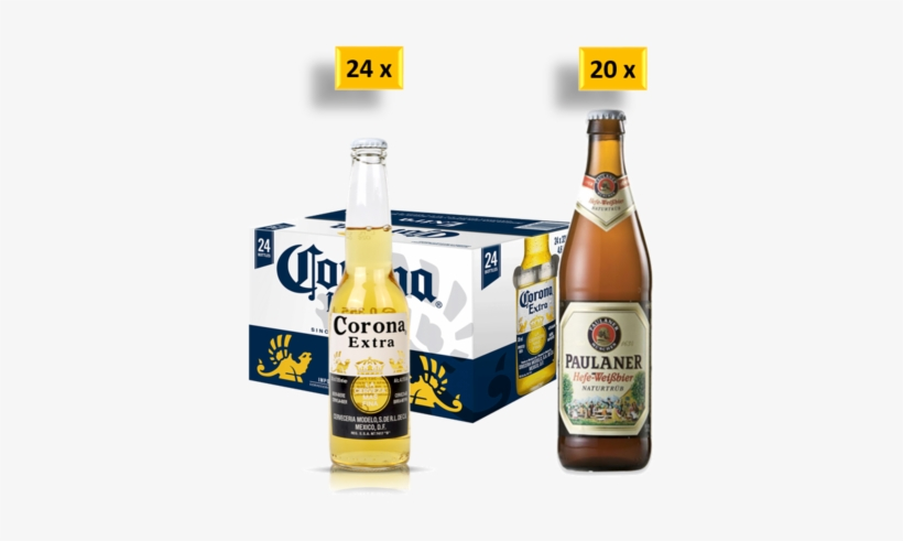Germany Vs Mexico - Corona Extra Beer - 24 Pack, 12 Fl Oz Bottles, transparent png #1452294