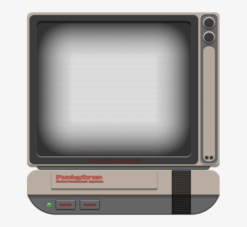 Tv Television Videogame Frame Border Texture Overlay - Tv Screen Transparent Border, transparent png #1455398