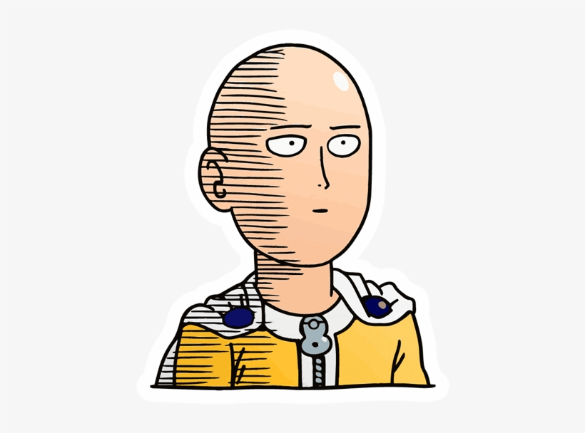 Saitama Sticker One Punch Man Saitama Ok Free Transparent Png Download Pngkey The perfect onepunchman ok saitama animated gif for your conversation. saitama sticker one punch man saitama
