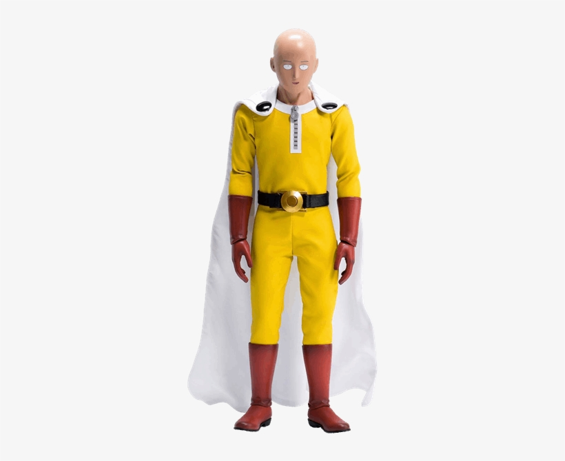 One Punch Man - One Punch Man 1/6 Scale Action Figure: Saitama, transparent png #1460335