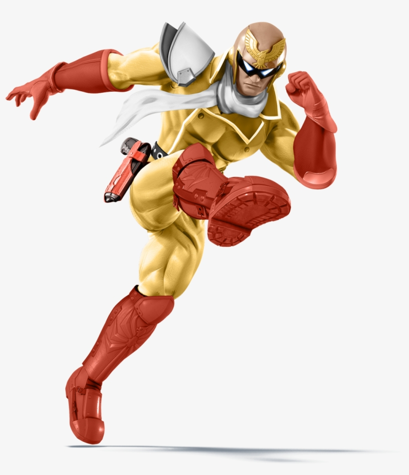Cool Smash Alts~ On Twitter - Captain Falcon Pink, transparent png #1460413