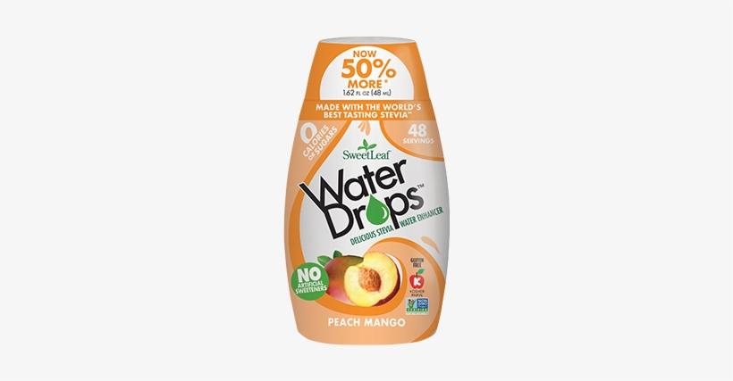Sweetleaf® Water Drops™ - Sweetleaf - Water Drops Peach Mango - 2.1 Oz., transparent png #1464156