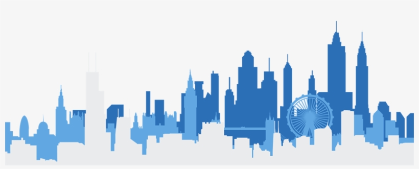Skyline-all - Skyline New York Dessin, transparent png #1465099