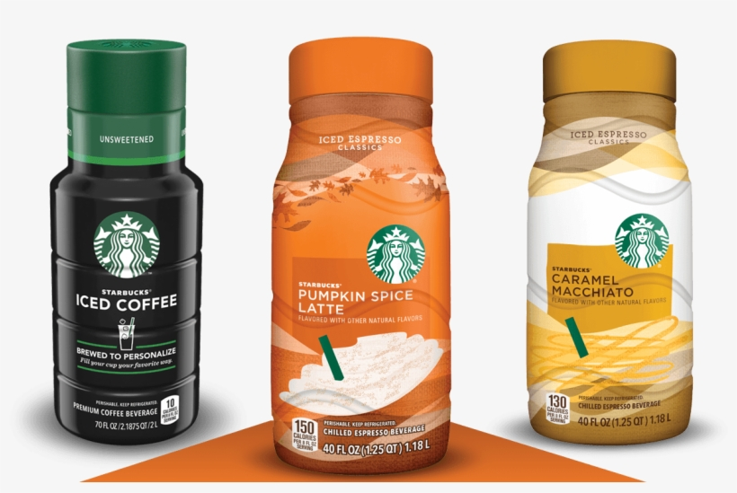 Enjoy The Starbucks Coffee You Love In The Comfort - Starbucks Unsweetened Iced Coffee - 48 Fl Oz Bottle, transparent png #1466524