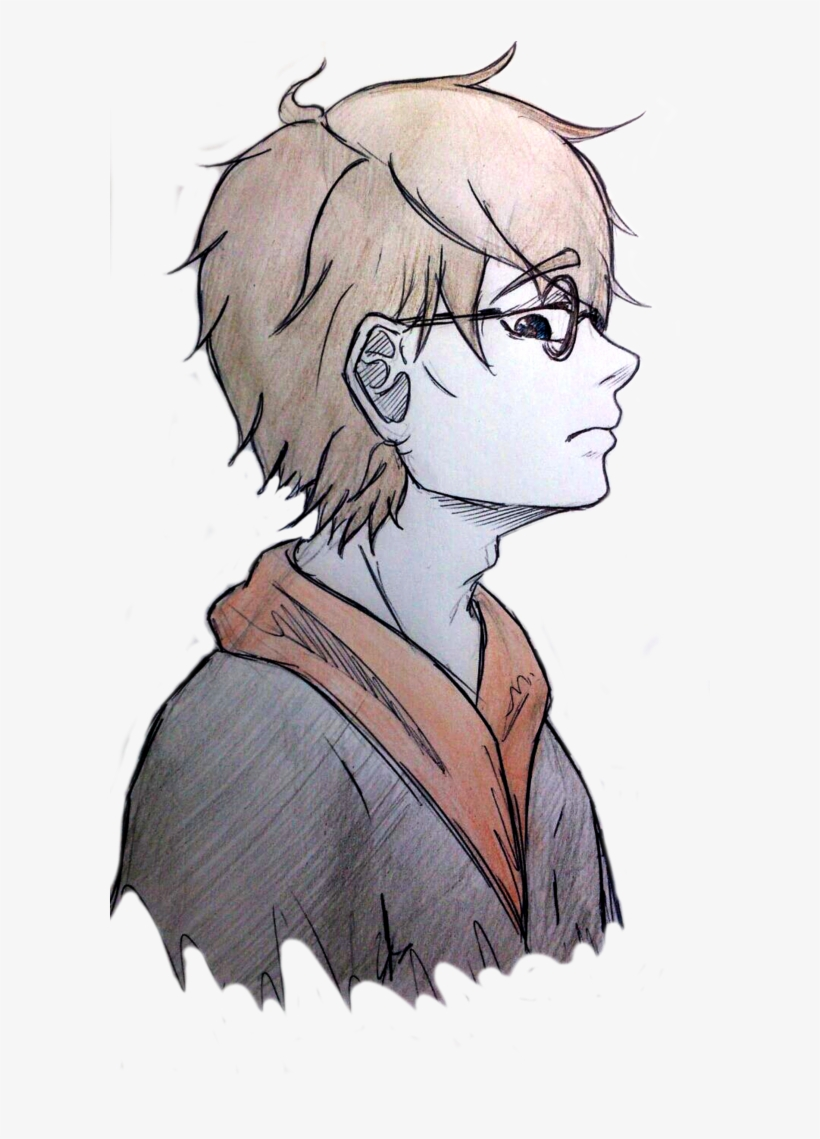 Fan Art Anime Version By Nayo Nyan - Anime Harry Potter Drawing, transparent png #1468061