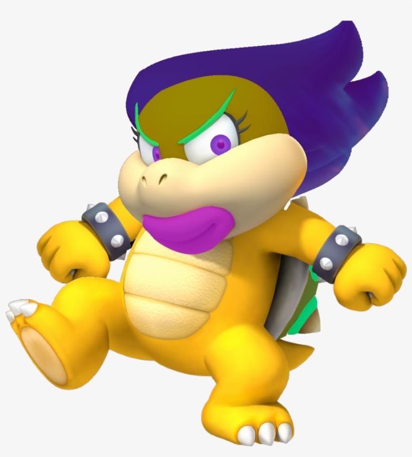 Ellen D Koopa Artwork Zps9079b6f4 - New Super Mario Bros Wii, transparent png #1469350