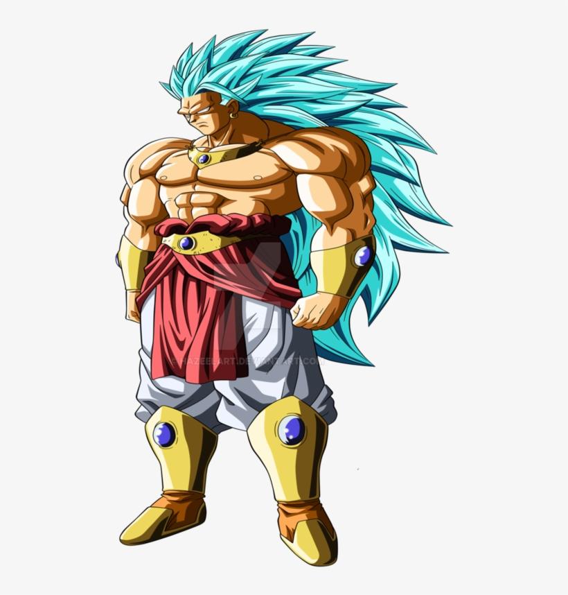Broly Png Running Svg Royalty Free - Dragon Ball Broly Ssj God, transparent png #1470791