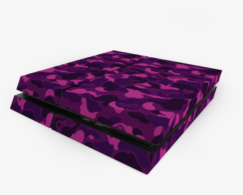 Sony Ps4 Purple Game Camo Decal Skin Kit - Playstation 4, transparent png #1470809