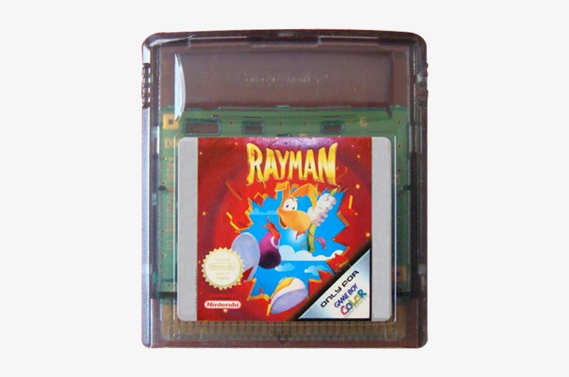 Rayman [game Boy Color Game] - Game Cartridge, transparent png #1470918