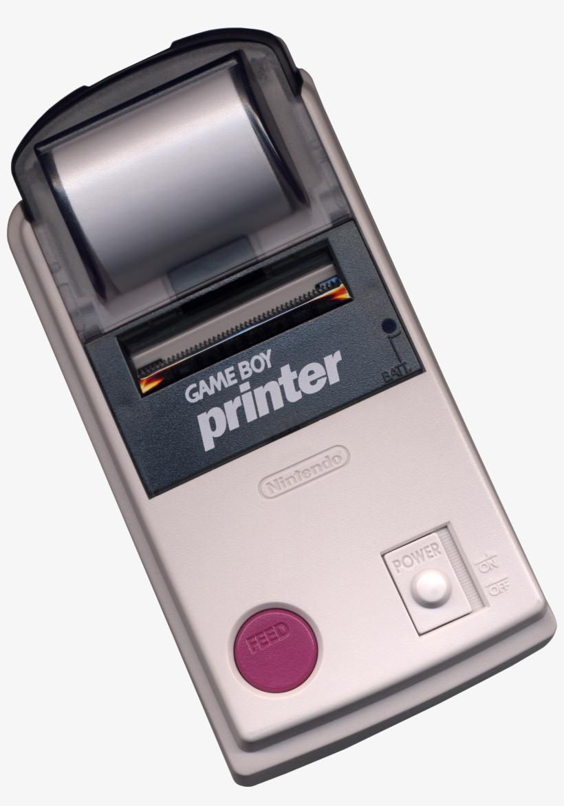 Game Boy Printer - Game Boy Printer [nintendo Game], transparent png #1471057