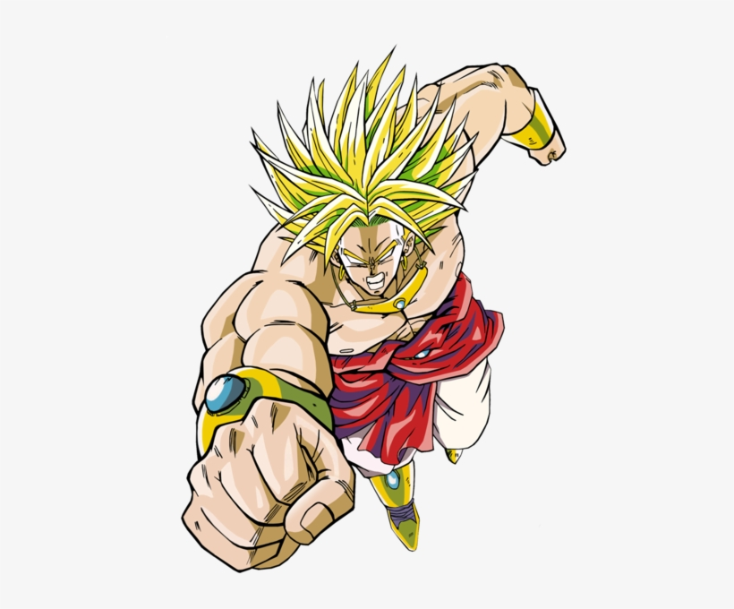 Dragon Ball Z Broly Png Freeuse - Dragon Ball Z - Movie 8 - Broly, transparent png #1471328