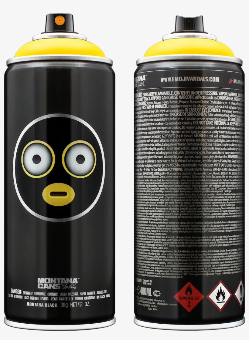Emojivandals Some Of Them Went Crazy - Spray Cans Limited Edition Loop, transparent png #1472743