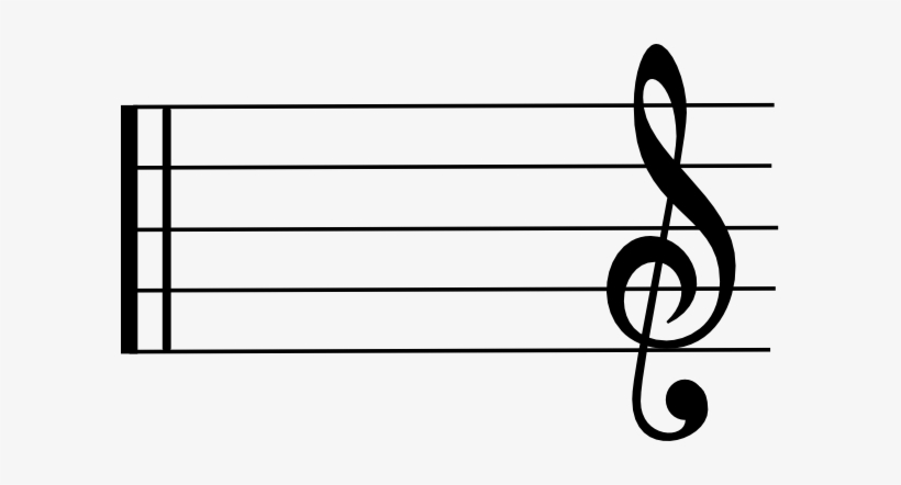 Blank Music Staff Clipart Clipart Panda Free Clipart - Musical Note, transparent png #1474464
