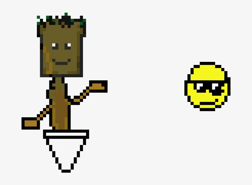 Baby Groot And Emoji - Groot Emoji, transparent png #1475378