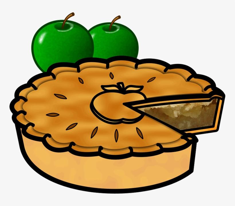 Apple Pie Pumpkin Pie Buko Pie Clip Art - Clip Art Apple Pie, transparent png #1477619