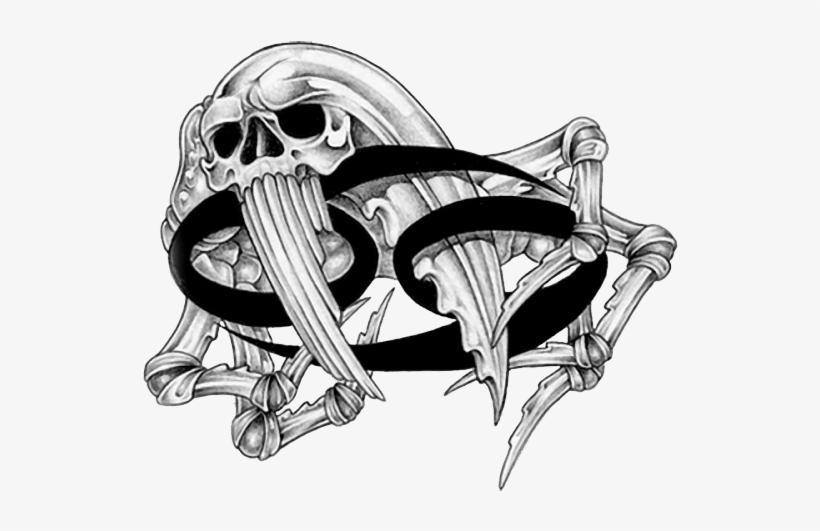 Zodiac Cancer Tattoo Picture Photo - Cancer Zodiac Tattoo Design, transparent png #1478741