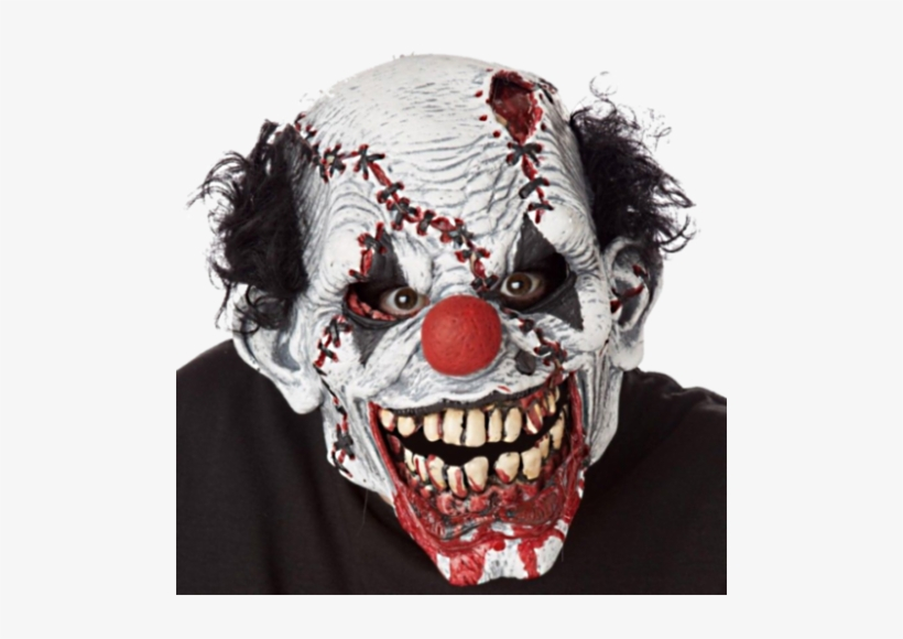 Ripper Face Clown Mask Moving Mouth - Stitches Ripper Clown Mask, transparent png #1478778