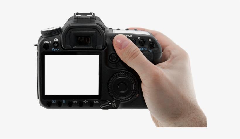 #wattpad #random Just A Few Editing Tips To Help You - Hand Holding Digital Camera Png, transparent png #1480539