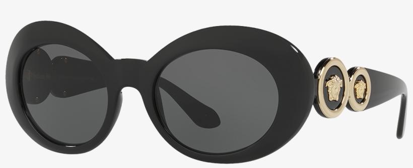 Versace Sunglasses For Women Online Store Eu - Versace Ve4329 Gb1/87 53 Sunglasses, transparent png #1480892