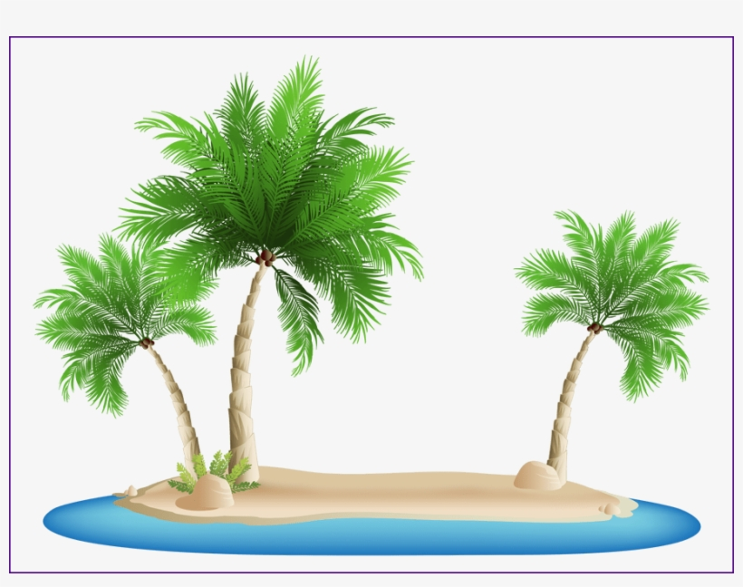 Shocking Palm Png Image - Palm Tree Beach Png, transparent png #1481705