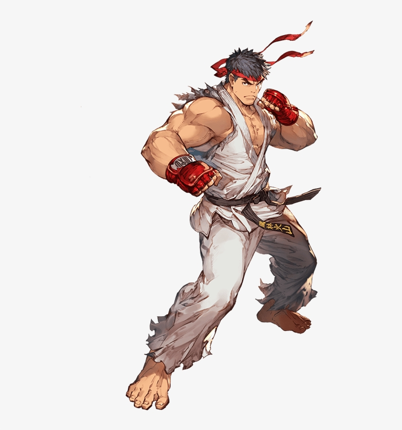 Ryu Png Pic - Ryu Street Fighter Png, transparent png #1482678
